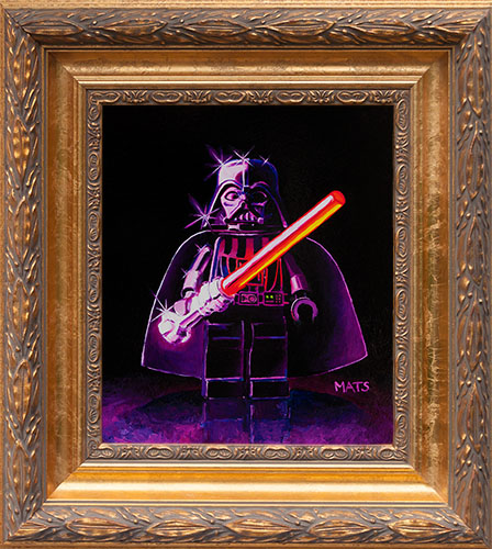 LEGO Darth Vader - Oil Painting by Mats Gunnarsson